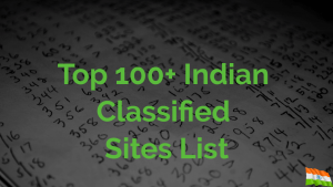 Top-100-Indian-Classified-Sites-List